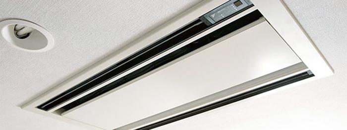 天井埋込タイプのエアコン